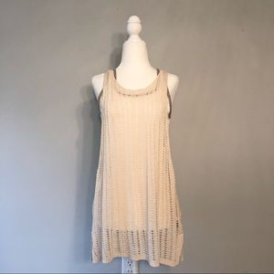 Free People Crochet Tank Top